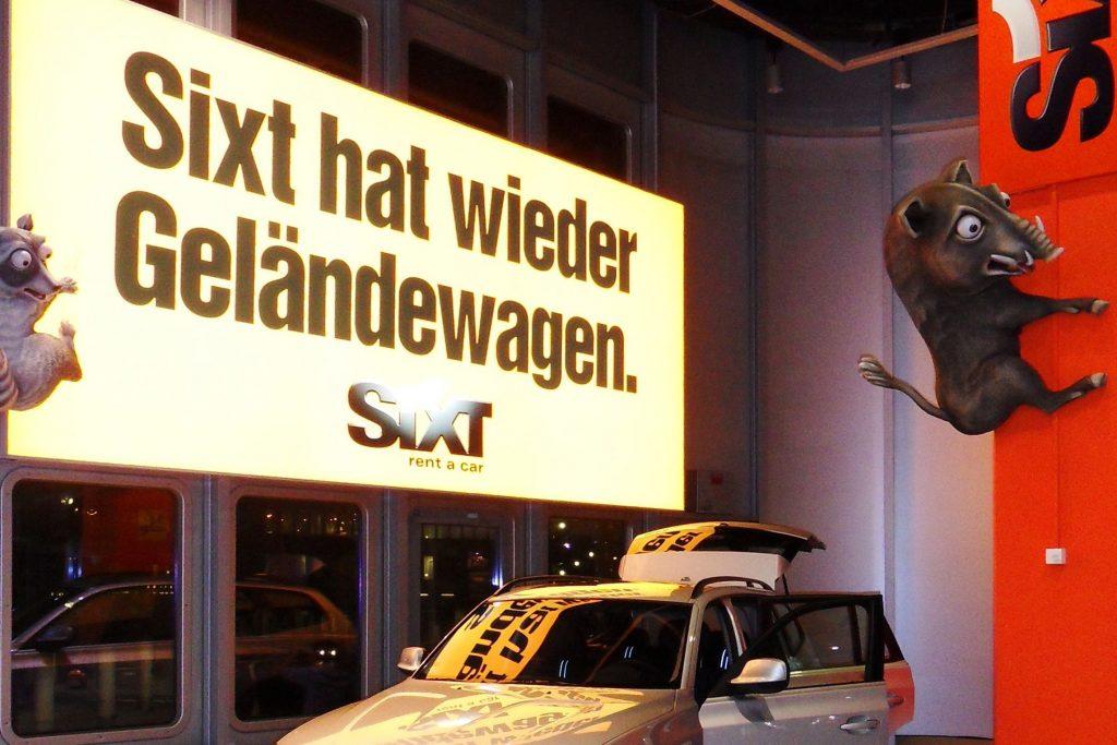 """Sixt """"Geländewagen"""""""